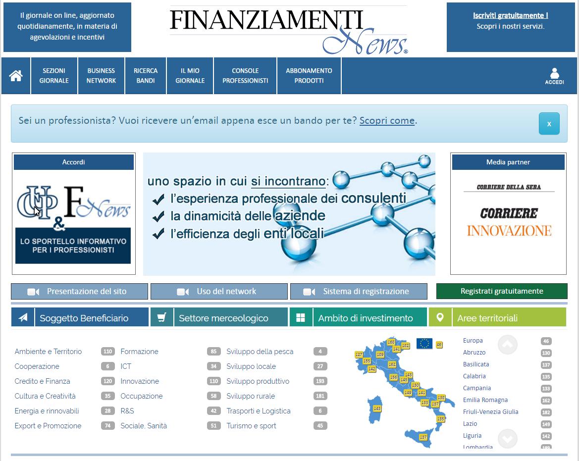 fin news screen